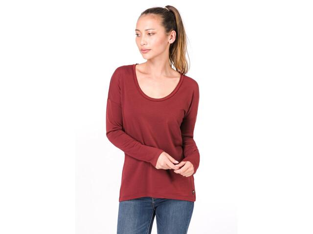 super.natural City Camisa Mujer, rojo